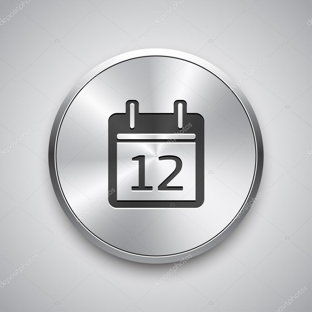 Apps Icons Vector Vector Metal App Button