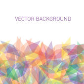 Abstract colorful vector background with place for text — ストックベクタ
