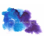 Abstract watercolor background,vector illustration, stain watercolors colors wet on wet paper. — Stock Vector