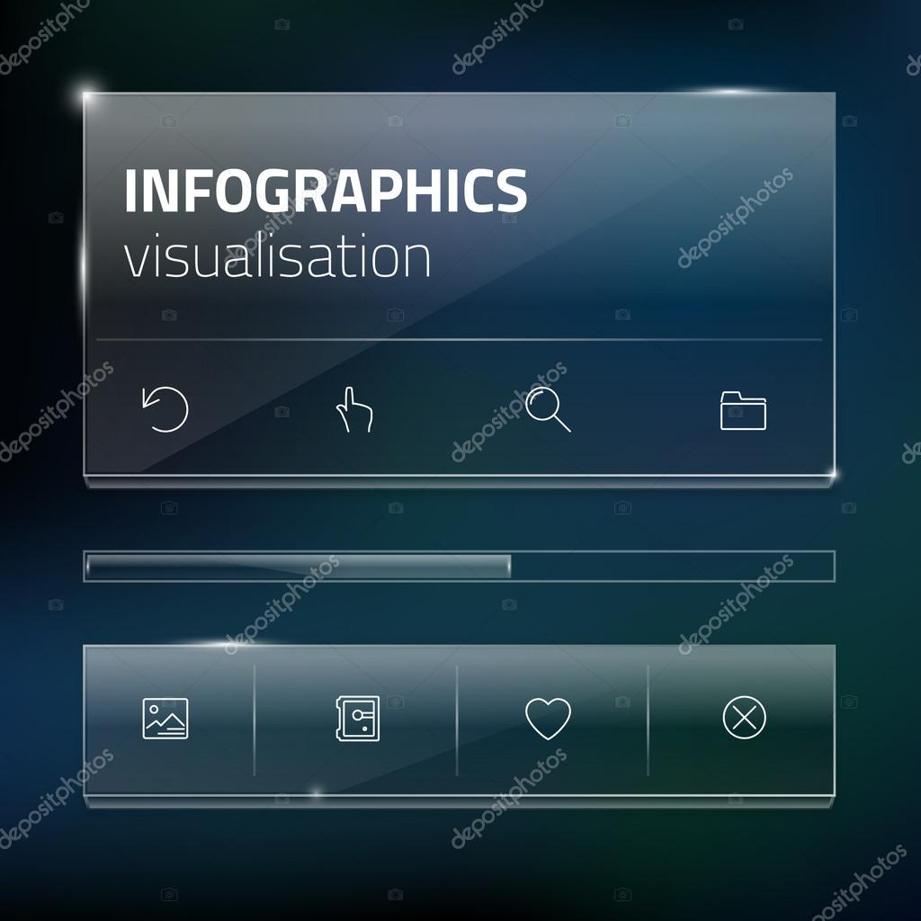 Modern Website Ui Template Design Transparent App User