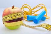 Diet & exercise — Stock Photo