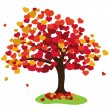 Stock Photo: Valentines tree