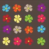 Colorful flowers — 图库照片