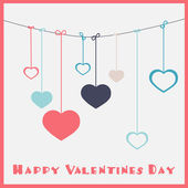 Happy Valentines Day — Stock Vector