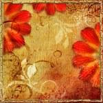 Vintage floral background — Stock Photo #30436381