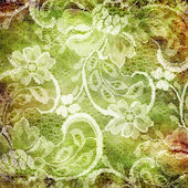 Aged lacy background — Stock Photo