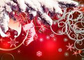 Christmas celebration background — Stock Photo