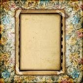 Vintage album frame — Stock Photo