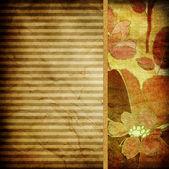 高齢者の縞模様の背景 — ストック写真
