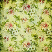 Retro floral background — Stockfoto