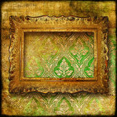 Retro luxury background with frame — Zdjęcie stockowe