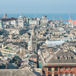 View of the historic center of Genoa — Stock Photo