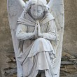 Angel on tombstone on old cemetery — Stock Photo #31515361