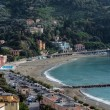 Panorama of Levanto (Liguria, Italy) — Stock Photo