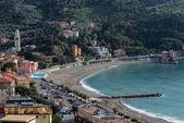 Panorama of Levanto (Liguria, Italy) — Stock Photo