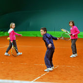 Tennisschool — Stockfoto