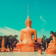 Sculpture of Buddha in Thailand — Stock Photo