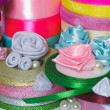 Colored ribbons — Stock Photo