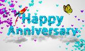 Happy Anniversary — Stock Photo
