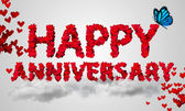 Happy Anniversary — Foto Stock