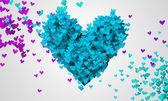 Amor azul — Foto de Stock