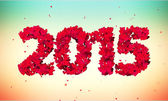 2015 Love Shape Particles — Foto de Stock