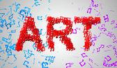 Art Musical Note — Stock Photo