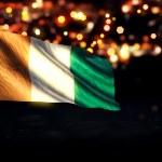 Cote D'Ivoire National Flag — Stock Photo #51499451