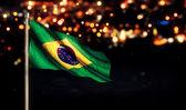 Brazil National Flag — Stock Photo