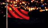China National Flag — Stock Photo