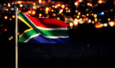 South Africa National Flag — Stock Photo