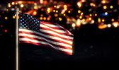 USA America National Flag — Stock Photo