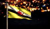 Brunei National Flag — Stock Photo