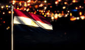 Egypt National Flag — Stock Photo