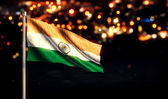 India National Flag — Stock Photo