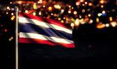 Thailand National Flag — Stock Photo