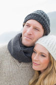 Close-up of a romantic young couple — Stock Photo