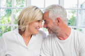 Close-up of a relaxed mature couple — Photo