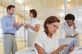 Business people in meeting at office — Stock Photo