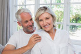 Portrait of a happy mature couple — Stock Photo