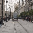 Tram of Seville — Stock Photo