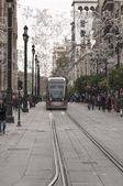 Tramwaj z Sewilli — Zdjęcie stockowe