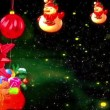 Stock Video: Footage with beautiful animation - Christmas Trinkets