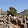 Rural Greek Delphi Temple — Stock Photo
