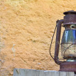 rural lantern in the countryhouse — Stock Photo