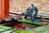 японский сад старый храм — Стоковое фото