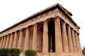 Temple de l'acropole rural, grèce — Photo