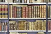 Livros e bookshelfs — Foto Stock