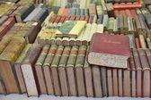 Knihy a bookshelfs — Stock fotografie