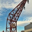 City Seaport Crane — Stock Photo